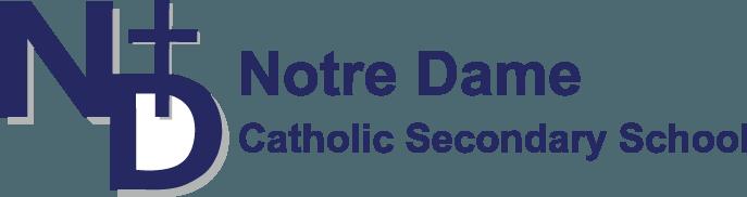 Notre Dame Catholic Secondary School Logo