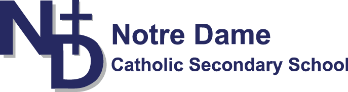 Notre Dame Catholic Secondary School Logo